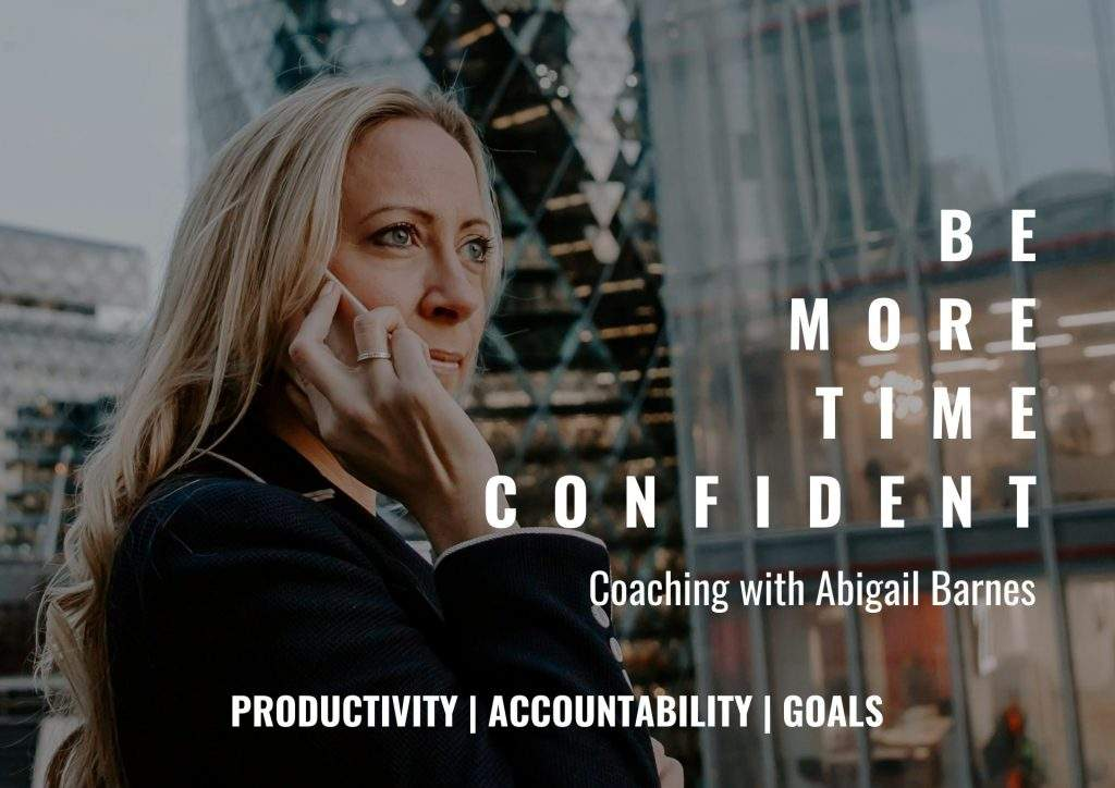 TIME CONFIDENCE COACHING